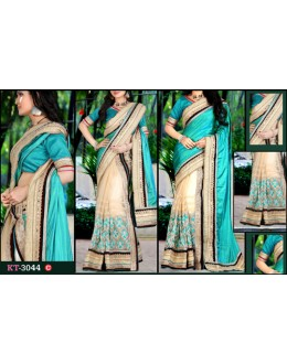 Bollywood Replica - Designer Multicolour Saree - KT-3044-C