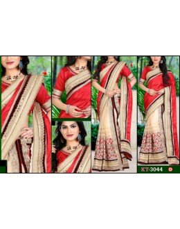 Bollywood Replica - Designer Multicolour Saree - KT-3044-D