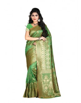 Bollywood Replica - Designer Green Kanjivarm Saree - KT-3045-C