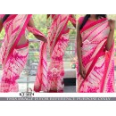 Bollywood Replica - Party Wear Sibori Printed Pink Georgette Saree - KT-3074