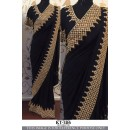Bollywood Replica - Party Wear Black Ethnic Saree - KT-3116