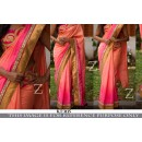 Bollywood Replica - Designer Multi-Colour Silk Georgette Saree - KT-3135