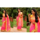 Bollywood Replica - Party Wear Multi-Colour Shaded Saree - KT-3156