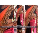 Bollywood Replica - Designer Multicolour Georgette Saree - KT-3050