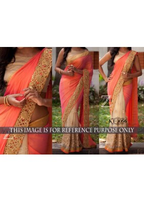 Bollywood Replica - Designer Multicolour Saree - KT-3056