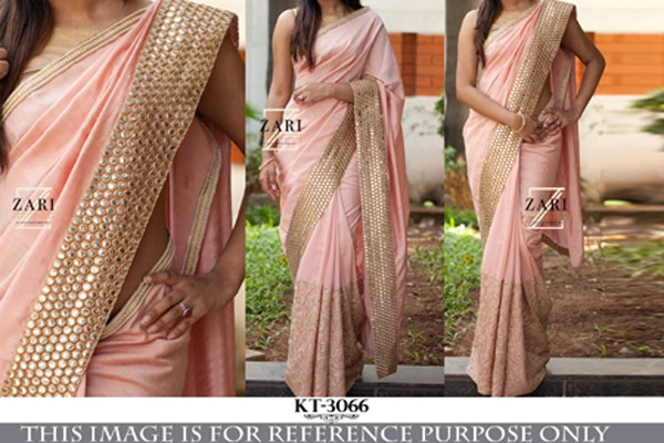 Bollywood Replica - Designer Pink Georgette Saree - KT-3066