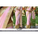 Bollywood Replica - Designer Pink Georgette Saree - KT-30667