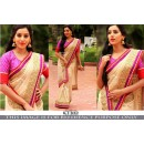 Bollywood Replica -Ethnic Wear Beige Saree - KT-3142