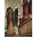 Bollywood Replica - Wedding Wear Maroon & Beige Saree  - NX-29