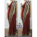 Bollywood Replica - Wedding Wear Maroon Saree  - NX-50