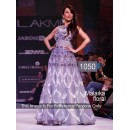 Bollywood Replica- Malaika Arora Designer Light Blue Gown - 1050