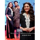 Bollywood Replica - Sonakshi Sinha Black Salwar Suit  - 1042