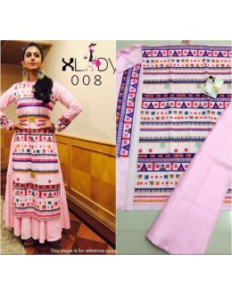 Bollywood Replica - Rakul Preet In Designer Light Pink Lehenga Suit - Classic008