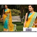 Bollywood Replica - Wedding Wear Yellow Paper Silk Saree - NX-116