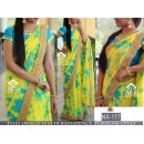 Bollywood Style - Party Wear Multi-Colour Sibori Printed Saree - NX-177