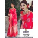 Bollywood Replica -Aishwarya Rai In Designer Red Saree - SN-545