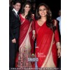 Bollywood Replica - Kajol In Designer Red & Cream Saree - SN-513