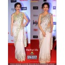 Bollywood Replica - Madhuri Dixit  Designer White Net Saree - SN-517