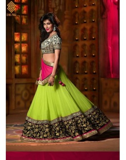 Chitrangada Singh In Green Embroidered Lehenga Choli - 212