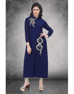 Casual Wear Readymade Multi-Colour Kurti - 14300
