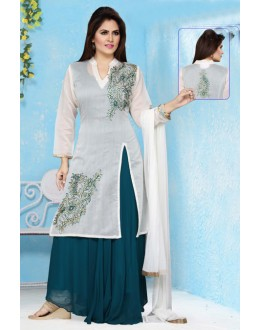 Party Wear Readymade Georgette Salwar Suit - 15659