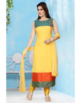 Ethnic Wear Readymade Georgette Salwar Suit - 15663