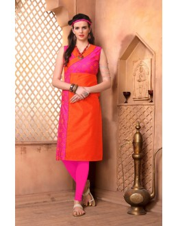Office Wear Readymade Pink Kurti - 15848