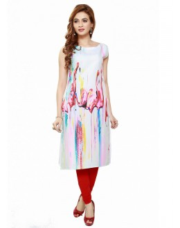 Ethnic Wear Readymade Poly Cotton Kurti - 16432