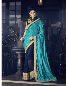 Ethnic Wear Multi-Colour Fancy Saree  - 16612