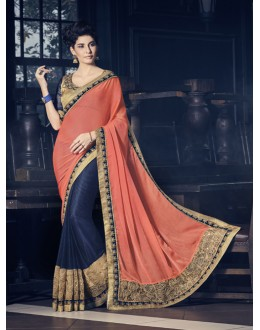 Ethnic Wear Multi-Colour Fancy Saree  - 16618