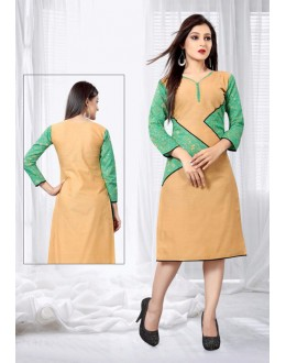 Office Wear Readymade Multi-Colour Kurti - 18446