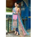Office Wear Pink Cambric Cotton Salwar Suit - 18811