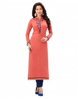 Festival Wear Readymade Pink Pure Georgette Tunic - 18995