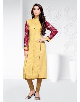 Casual Wear Readymade Multi-Colour Rayon  Kurti - 20459