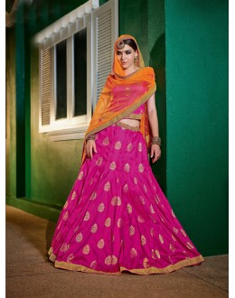 Ethnic Wear Rani Brocket Lehenga - 21316