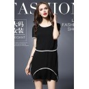Fancy Readymade Black Western Wear Dress - 1021012