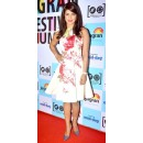 Priyanka Chopra In Readymade White Skater Dress - 1021017