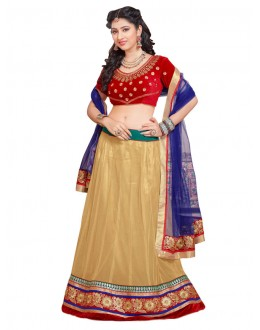Party Wear Red  Lehnega Choli - 3352512