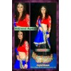 Bollywood Replica - Designer Ragini Khanna Net Viscos Multi Color Lehenga Choli - 1001 (SIA-FC)