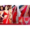 Bollywood Replica - Red Designer Saree of Prachi Desai in Policegiri 167