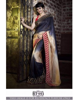 Bollywood Inspired -Mandira Bedi In Party Wear Saree  - BT-143