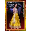 Bollywood Replica -  Rakul Preet Designer Yellow Pure Banglori Silk Lehenga Choli  - 7229