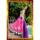 Bollywood Replica -  Wedding Wear Pink Pure Net Lehenga Choli  - 7225