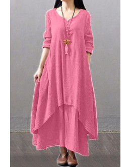 Fancy Light Pink Party Wear Kurti Palazzo Suit - NooorieeLPink