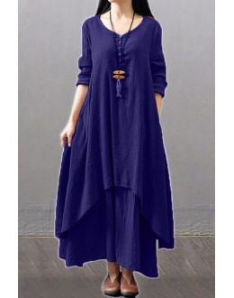 Fancy Navy Blue Party Wear Kurti Palazzo Suit - NooorieeNBlue
