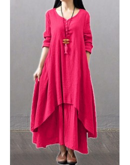 Party Wear Fancy Pink Kurti Palazzo Suit - NooorieePink