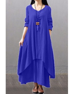 Party Wear Fancy Royal Blue Kurti Palazzo Suit - NooorieeRBlue