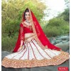 Ethnic Wear Net White Lehenga Choli - 90002