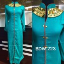 Bollywood Inspired - Ready-Made Designer Turquoise Long Kurti - BDW223-2