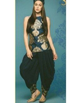 Bollywood Replica - Party Wear Blue Dhoti Style Suit - DH01